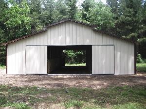 24x40 Pole Barn